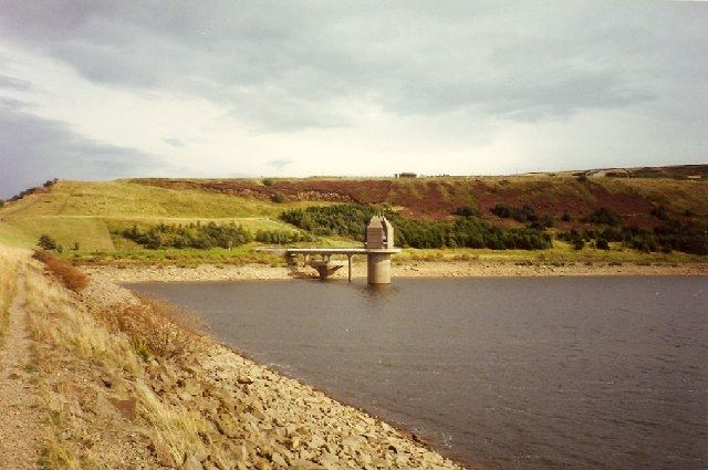 Scammonden Dam and Valve Tower