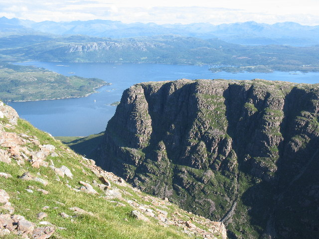 The Cliffs of Meall Gorm, Applecross