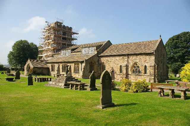 The Parish Church of St Wilfrid, Ribchester