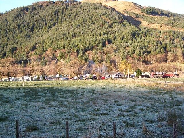 Stratheck Caravan site