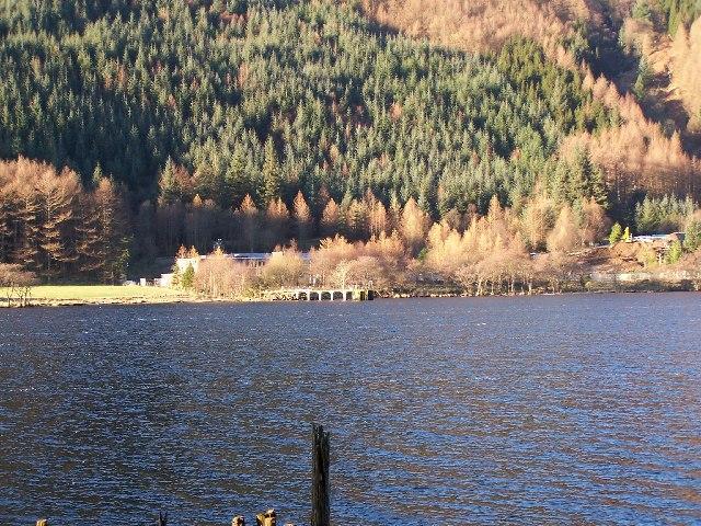 Loch Eck. water treatment plant