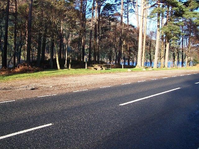 Loch Eck, Rubha Garbh picnic site