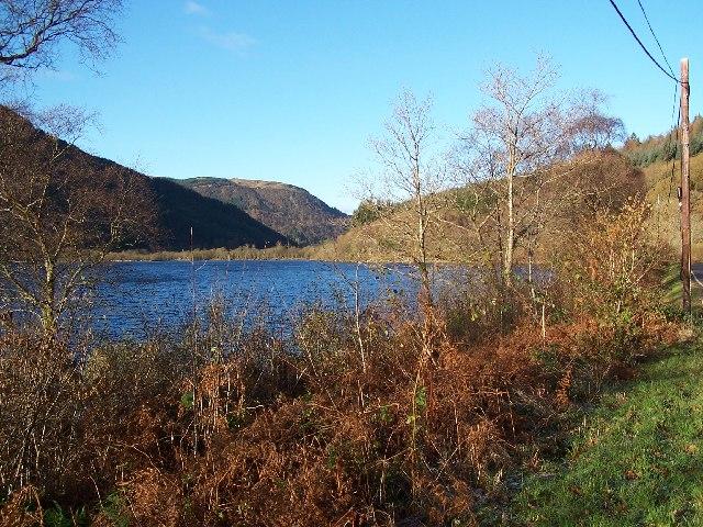 top of Loch Eck