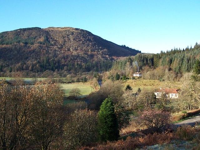 View of Beinn Lagan