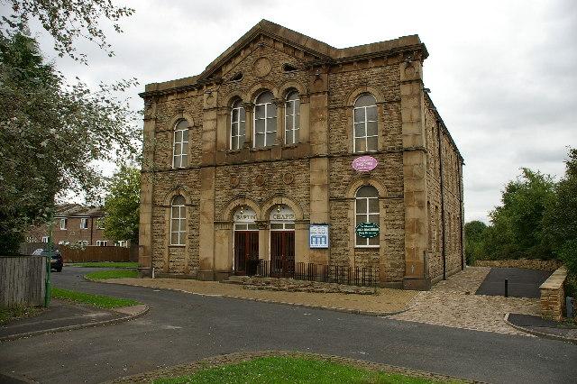 Ernest Street Baptist Church, Church Lancashire