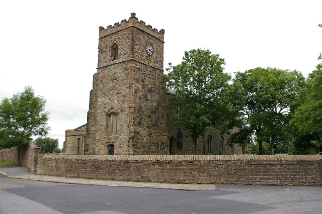 St James Church, Church, Lancashire