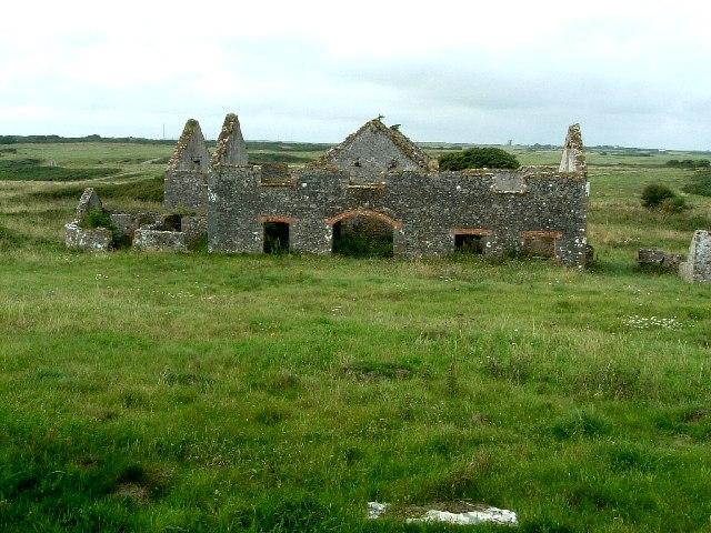 Abandoned Farm Buildings, Artillery Range, Flimston
