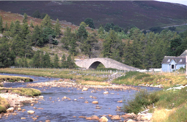 Gairnshiel Bridge.