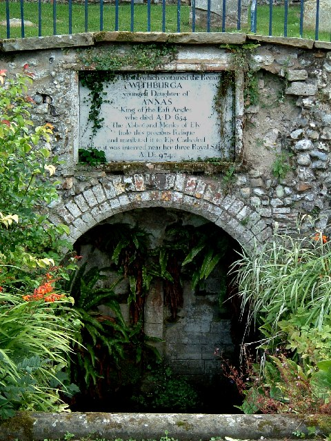 Site of Withburga's Tomb, East Dereham