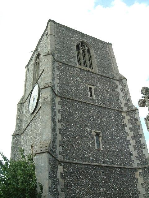 Detached tower of St. Nicholas' Church, Dereham
