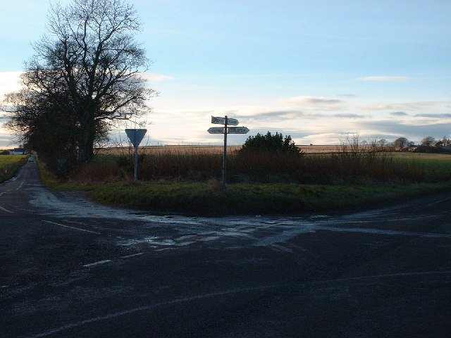 Arbroath to Forfar Crossroads
