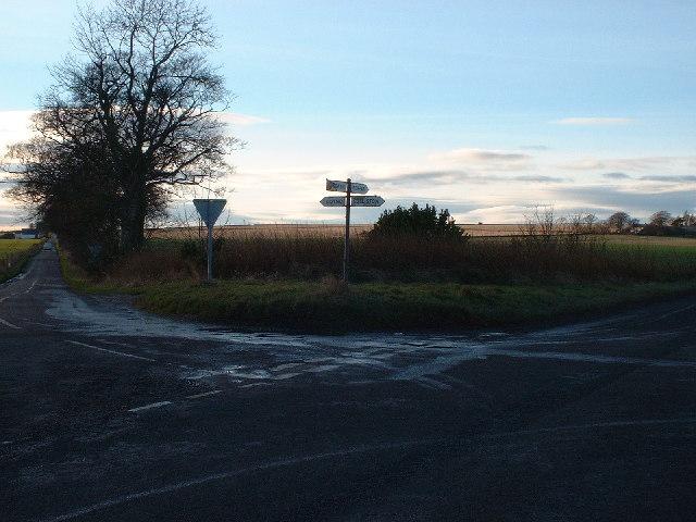 Arbroath to Forfar Crossroads