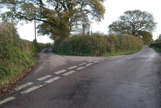 Warkidons Way/Dog Lane, Woodbury Salterton