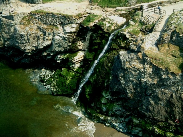 Tintagel Bay Waterfall
