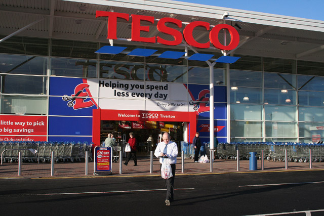 Tiverton: Tesco