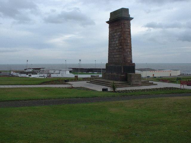 Arbroath War Memorial and Gayfield Park