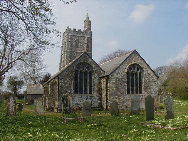 St Allen Church, Cornwall