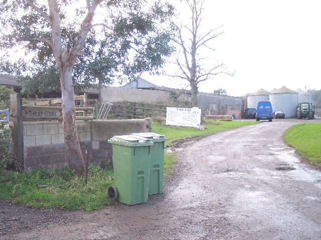 Entrance to Tirley Court Farm