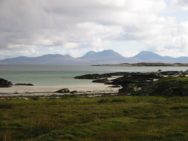 View SE from Oronsay