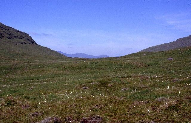 Bealach between Beinn a Chleibh + Meall nan Tighearn