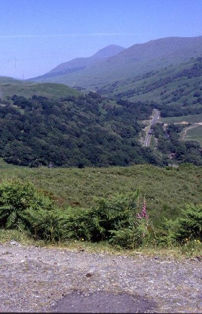 A82 in Glen Falloch