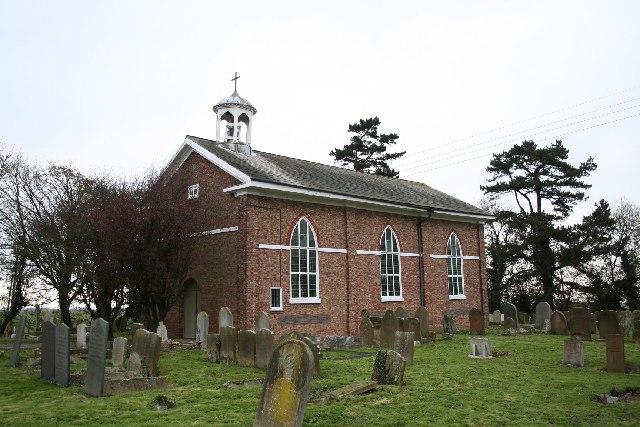 St.Peter's church, Frithville, Lincs.