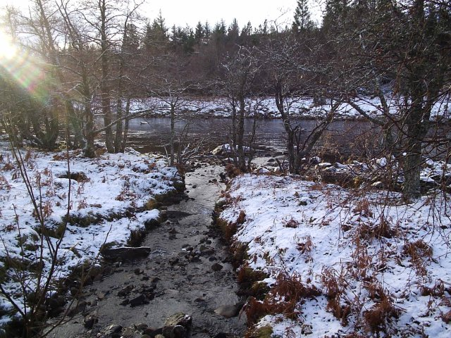 River Cassley and a wee Burn