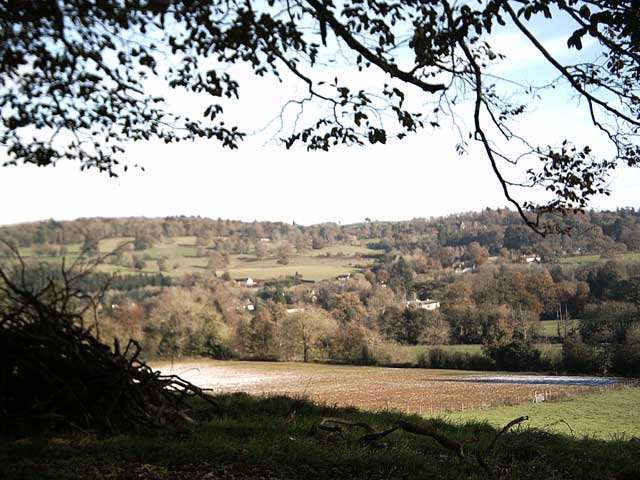 The Exe valley from Warren Cross