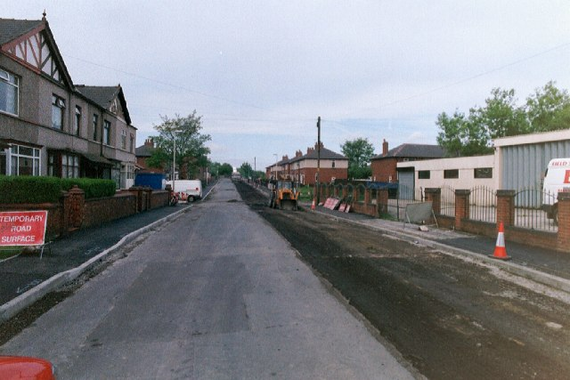 Replacing the surface, Westwood Lane