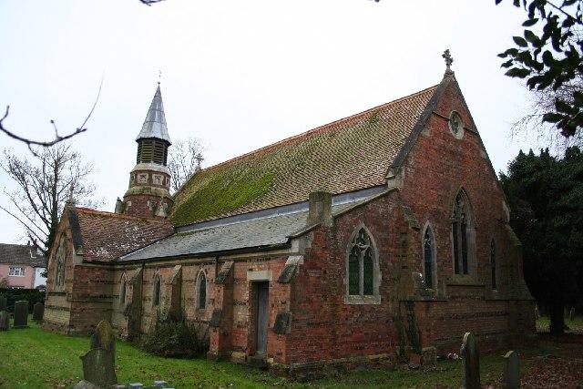 St.Peter's church, New Bolingbroke, Lincs.