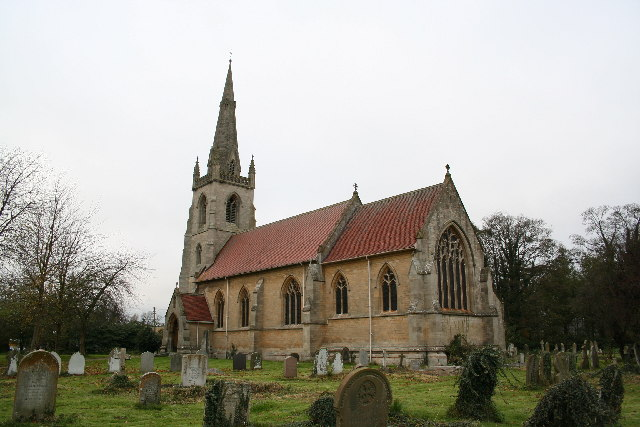 St.Lawrence's church, Revesby, Lincs.