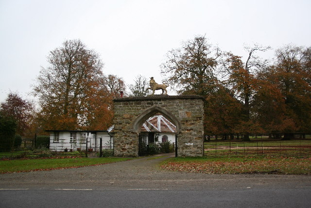 The Lion Gateway
