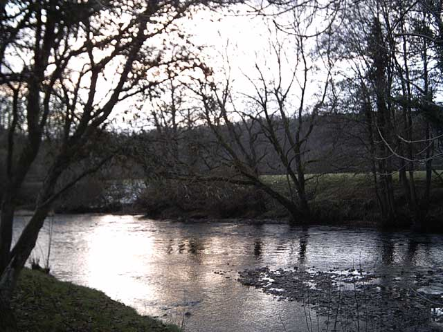The River Exe at Exebridge