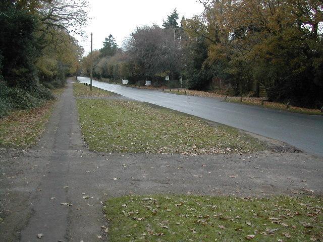 Sway Road, Brockenhurst (B3055)