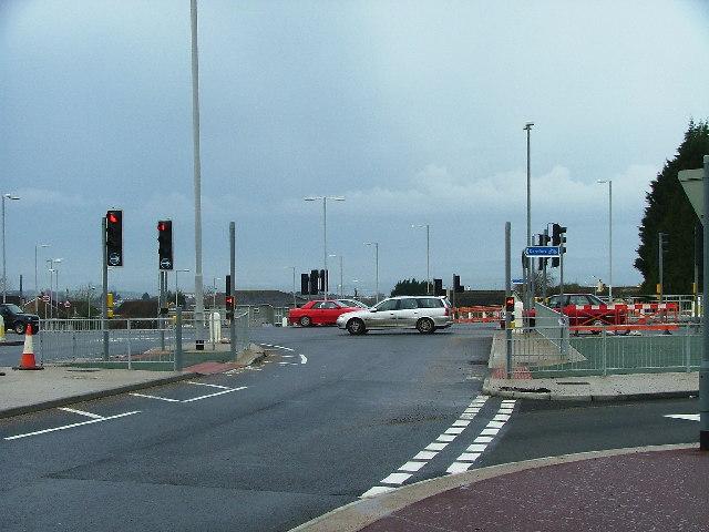 Junction Plymbridge Road - A386 Tavistock Road, Plymouth
