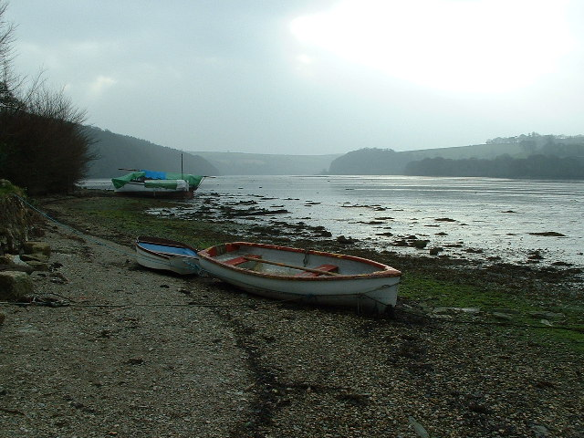River Fowey from St Winnow