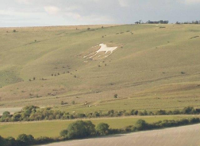 The Alton White Horse