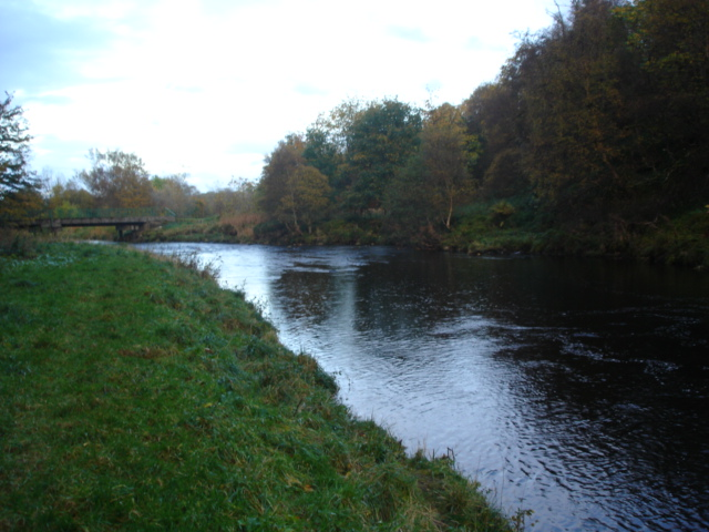 Aswanley Bridge From the lower intake pool on the Deveron