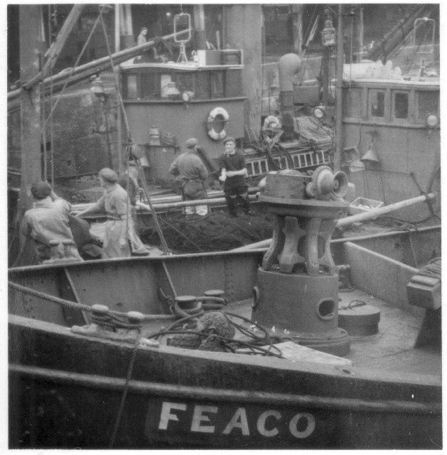 Lowestoft Fishing Boats 1954