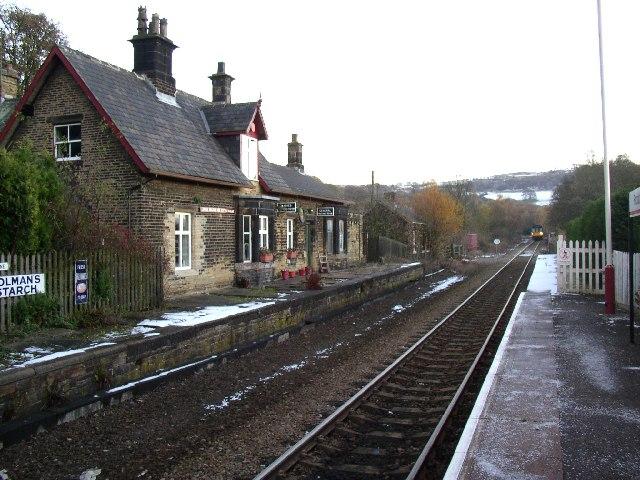 Brockholes Station, Honley
