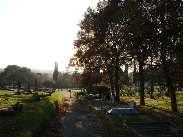 Cemetery Bexhill-on-Sea East Sussex