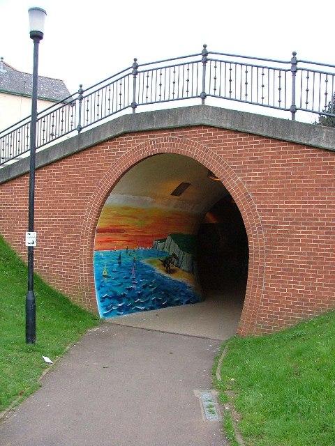 Newport end, Railway tunnel.