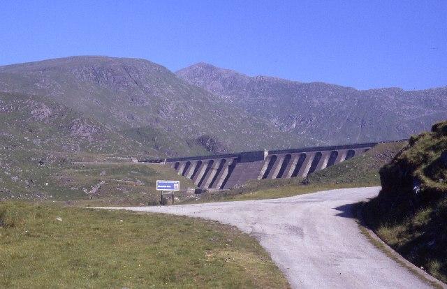 Cruachan Reservoir Dam
