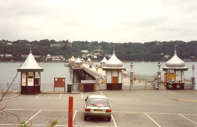 The entrance to Bangor Pier