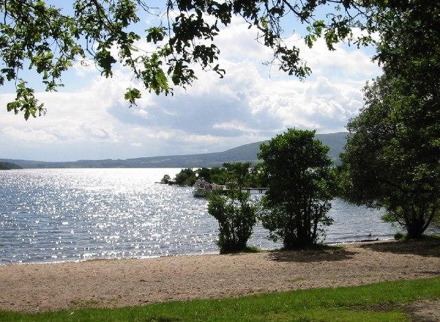 South Bay, Inchcailloch, Loch Lomond