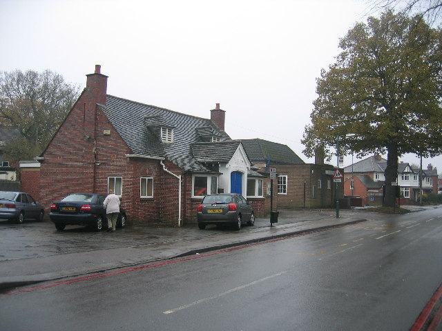 Church House and Library, Shirley