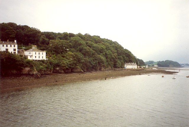 The shore of Bangor from Bangor Pier