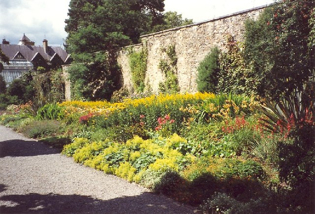 Entrance path in Bodnant Garden
