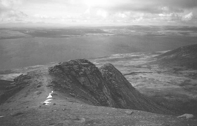 North Ridge of Beinn Bharrain.