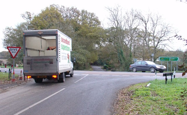 Junction of A272, Spronkett's Lane and Wineham Lane, West Sussex